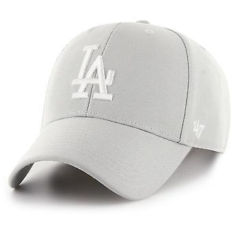 47 Brand Adjustable Cap - MLB Los Angeles Dodgers gris