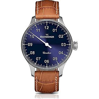 MeisterSinger Watches Men's Watch One-Hand Clock Circularis CC308_SL03