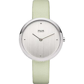 M & M Saksa M11944-742 ympyrä linjan Ladies Watch