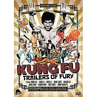 Kung Fu Trailers of Fury [DVD] USA import
