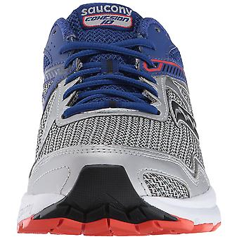 Saucony Mens GRID COHESION Low Top Lace Up Trail Running Shoes