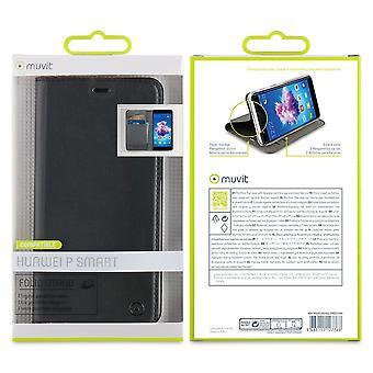 Case For Huawei P Smart 2018 Black Card Door