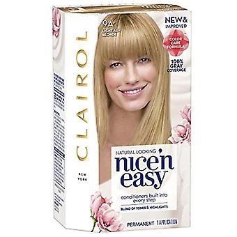 Clairol nice 'n easy hair color, light ash blonde #9a, 1 kit