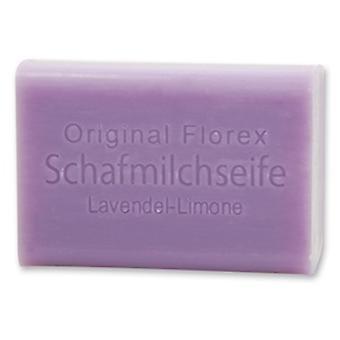 Florex Sheep Milk Soap Lavanda Limone Calmante ao mesmo tempo refrescante 100 g