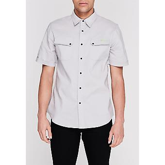 Sugoi Mens ShopShtCl99 Short Sleeve Collared Button Down Casual Shirt Top