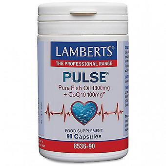 Lamberts Pulse Pure Fish Oil & CoQ-10 Capsules 90 (8536-90)