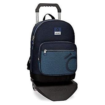 Enso Blue Backpack 44 centimeters 19.8 Blue (Azul)
