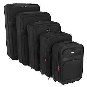 Slazenger Unisex Trolley Suitcase Set