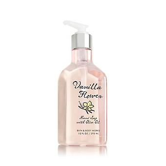 Bath & Body Works Vanilla Flower Hand Soap With Olive Oil 10 oz / 295 ml ( 2 Lot )