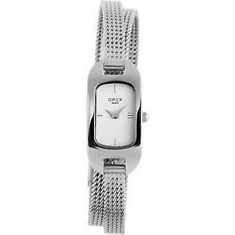 Opex OPW005 Watch - BLER Grey Steel Bracelet Grey Steel Silver Steel Women