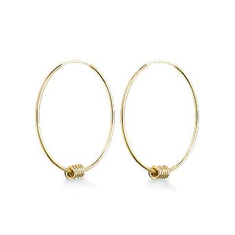 Rosefield JSHLG-J065 Earrings - Iggy Larges Rings Multiple Rings Yellow Yellow Gold Laiton