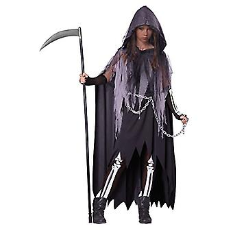 California Costumes Miss Reaper Tween Costume, X-Large, Gray, Size X-Large
