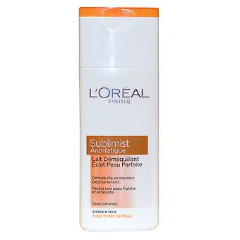 L'Oreal Paris Sublimist by L'Oreal Cleansing Milk 200ml Face and Eyes All Skin Types