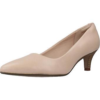 Clarks Comfort Shoes Linvale Jerica Blush Leath Color Blush
