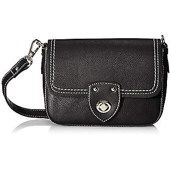 Tom Tailor Acc Jolanda - Black Women's Shoulder Bags (Schwarz) 22x15x6.5 cm (W x H L)