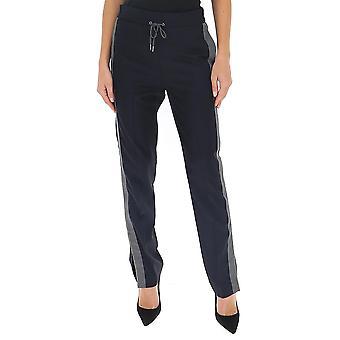 Fabiana Filippi Pad260w857a6025101 Women's Black Cotton Pants