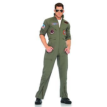 Top Gun Flight Costume Adulte