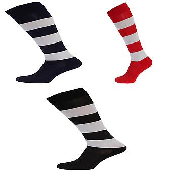 Apto Childrens/Kids Hooped Football Socks