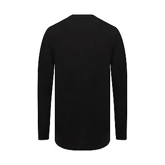 SF Mens Long Sleeve Longline T-Shirt