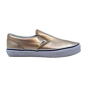 Vans Classic Slip-On Metallic Leather/Rose Gold VN0004J2IGA Pre-School