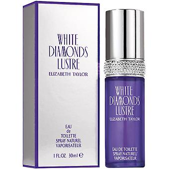 Elizabeth Taylor White Diamonds Lustre Eau de Toilette Spray 30ml