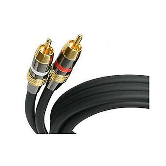 Startech 30 Ft Premium Stereo Audio Cable Rca