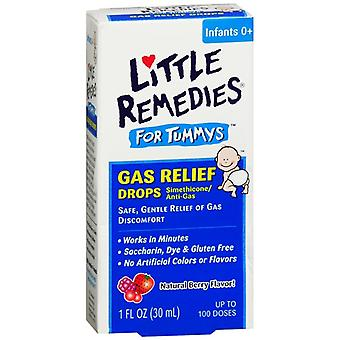 Little tummys gas relief drops, 100 doses, natural berry flavor, 1 oz