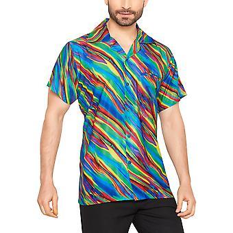 Club cubana men's regular fit classic short sleeve casual shirt ccd3