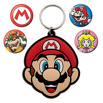 Super Mario-Keychain & Pins