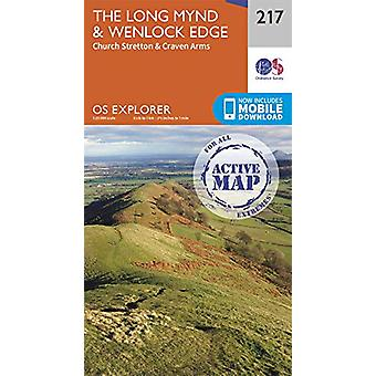 The Long Mynd & Wenlock Edge - Church Stretton & Craven Arms -