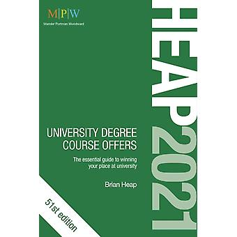 HEAP 2021 University Degree Course Offers by Brian Heap