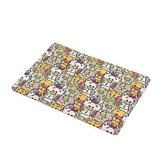 Cartoon rug, modern living room bedroom home decoration, soft non-slip children's printed rug