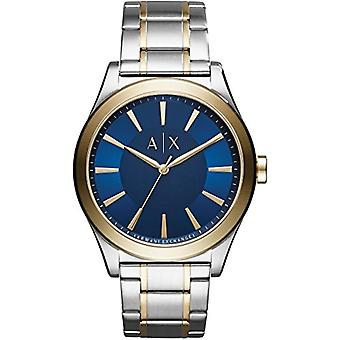Armani Exchange Mens Quartz Analog Watch with stainless steel band AX2332