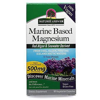 Nature's Respuesta De magnesio marino 500mg Caps 90 1540