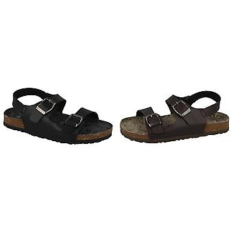 JCDees Boys Buckle Strap Sandals