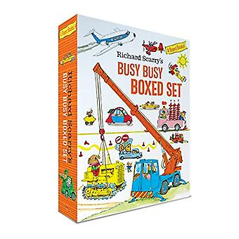 Richard Scarry's Busy Busy Boxed Set by Richard Scarry - 978198489424