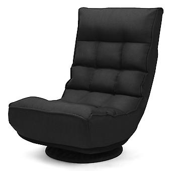 Folding Lazy Sofa Chair 360 Degree Ergonomic Swivel Adjustable Floor Game Chair