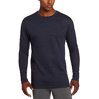 Duofold Men's Mid-Weight Wicking Shirt, Navy, X-Large