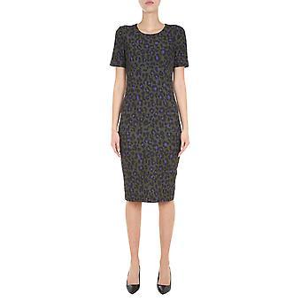Boutique Moschino 044561551440 Women's Green Polyester Dress