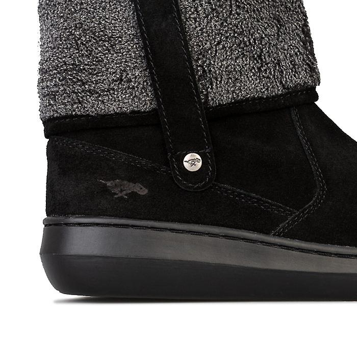 Women's Rocket Dog Sugarmint Suede Boots in Black