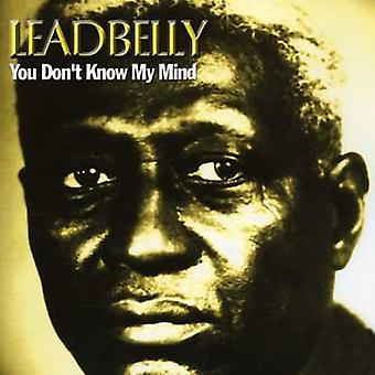 Leadbelly - You Don't Know My Mind [CD] USA import