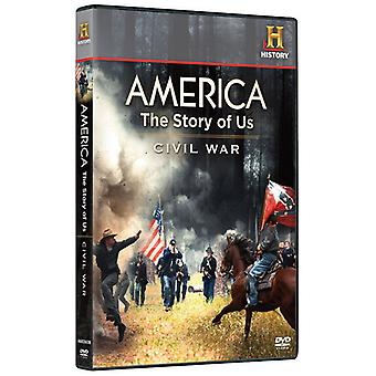 America: The Story of Us, Vol. 3 - Civil War/Heartland [DVD] USA import