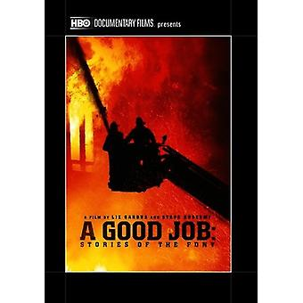 Good Job: Stories of the Fdny [DVD] USA import