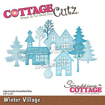 Scrapping Cottage Winter Village