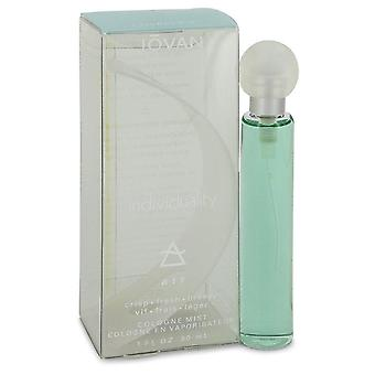 Jovan Individuality Air Cologne Spray By Jovan 1 oz Cologne Spray