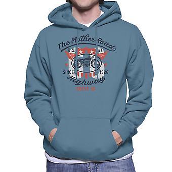 Route 66 The Mother Road Men's Hooded Sweatshirt