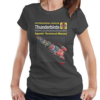 Thunderbirds 3 tekniske manual kvinder ' s T-shirt