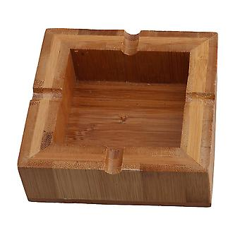 Naturale Bamboo Square Cigar Ashtray