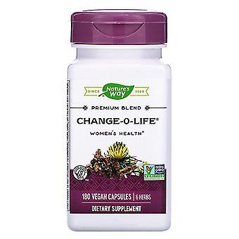 Nature's Way, Change-O-Life, Women's Hälsa, 180 veganska kapslar