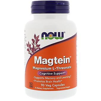Nu voedingsmiddelen, Magtein, Magnesium L-Threonate, 90 vegetarisch capsules